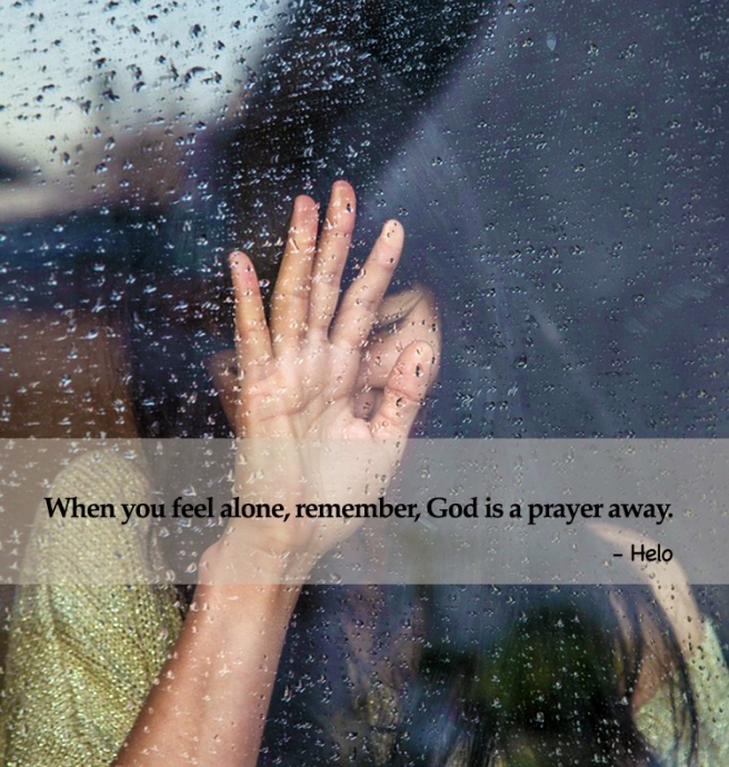 alone - prayer away
